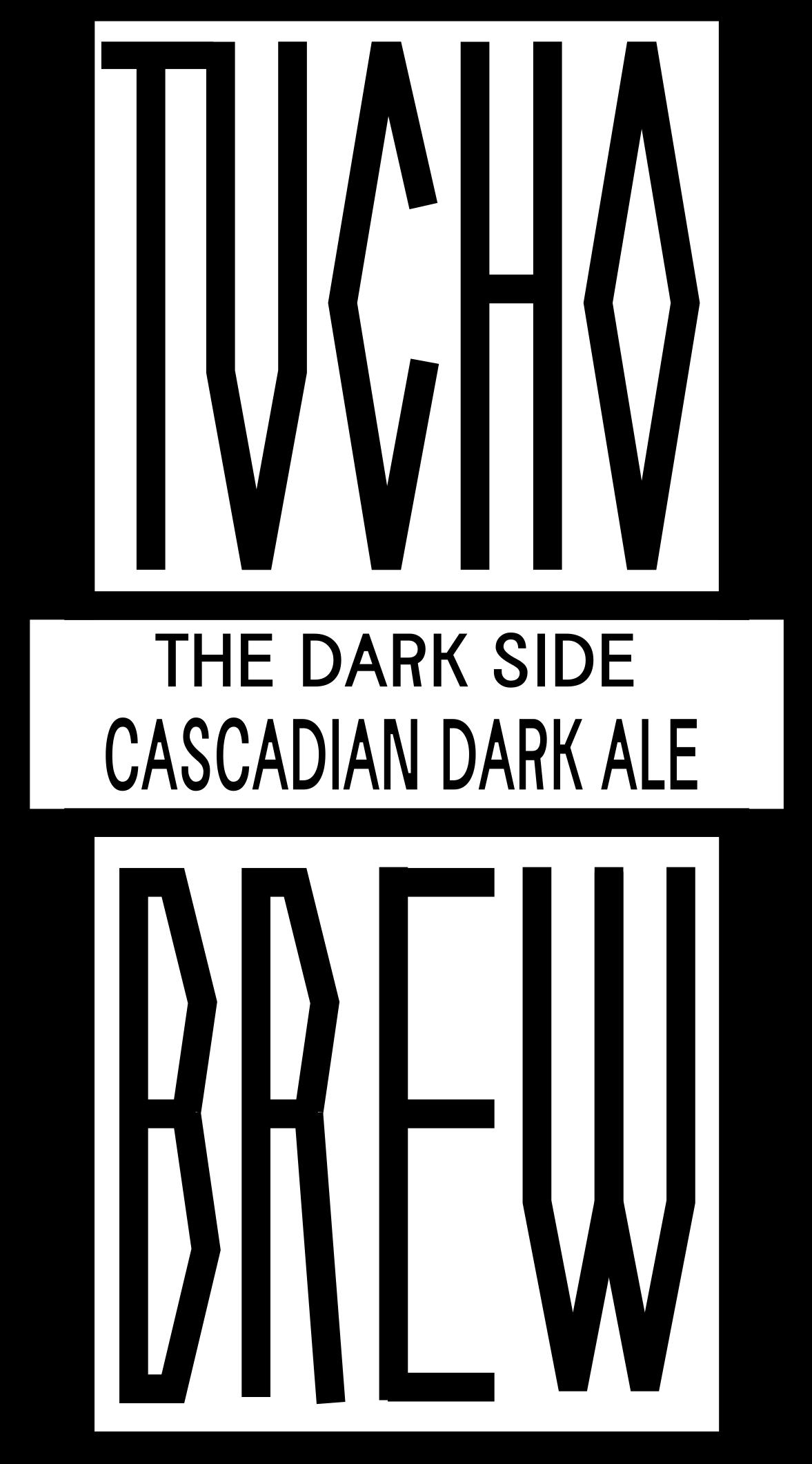 """""""THE DARD SIDE"""" CASCADIAN BLACK ALE"""