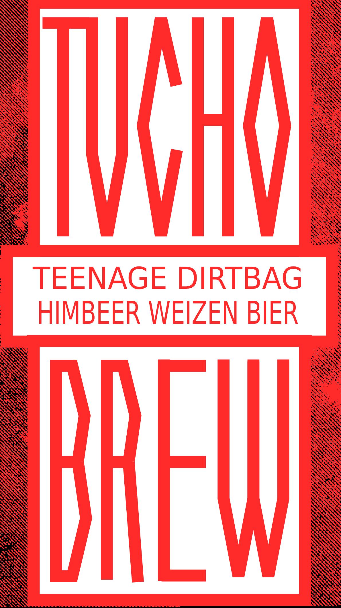 """""""TEENAGE DIRTBAG"""" HIMBEER WEIZEN BIER"""